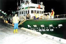 石田丸漁業出港の様子